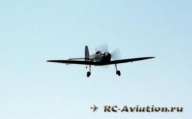 радиоуправляемая авиамодель spitfire mk 9