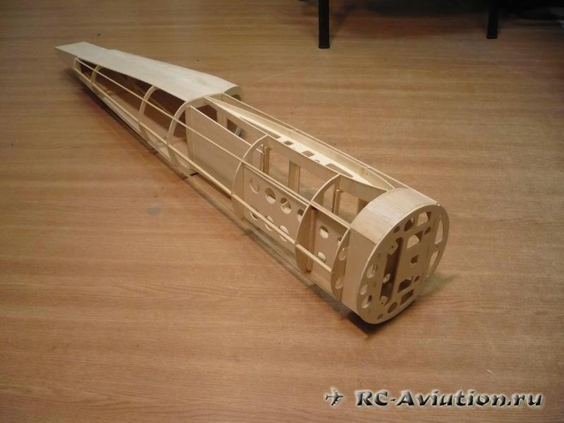 авиамодель ЯК-54