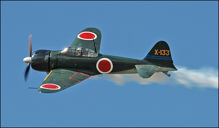 Чертежи авиамодели A6M Zero