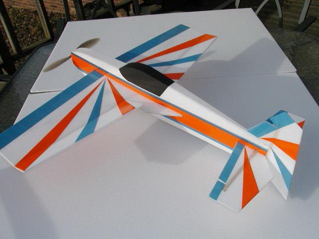 Чертеж авиамодели Katana