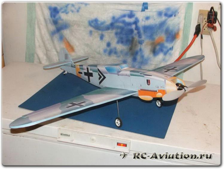 Самодельная авиамодель из потолочки
