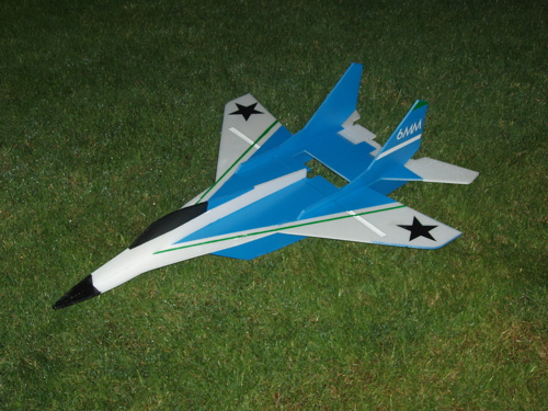 авиамодель своими руками МИГ-29