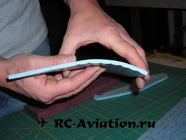 Как сделать авиамодель из потолочной плитки своими руками