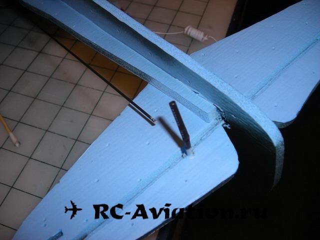 Самодельный самолет из потолочной плитки своими руками