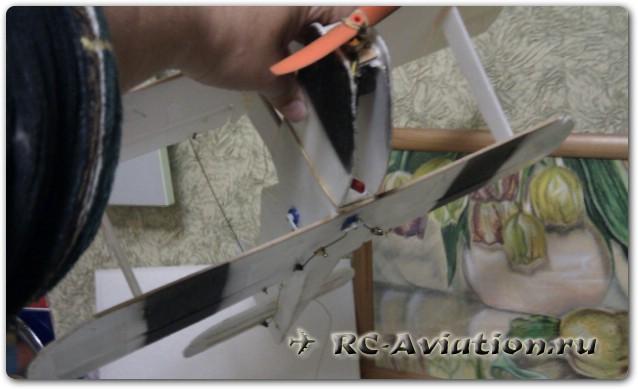 покраска авиамодели акрилом из баллончика