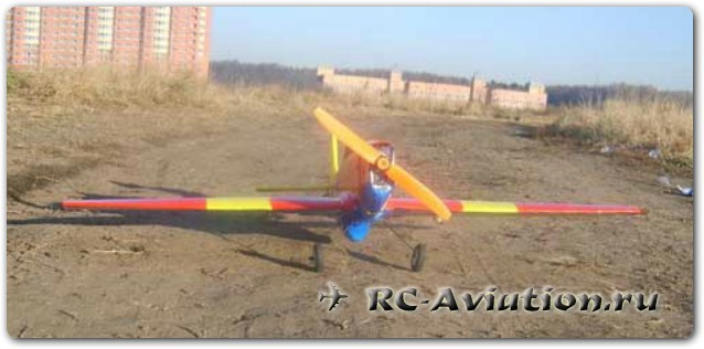 Окраска авиамодели акрилом