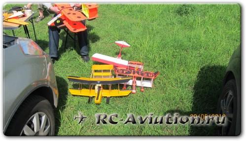 полеты на радиоуправляемых авиамоделях