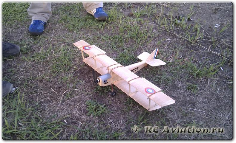 Полеты на авиамоделях в савино