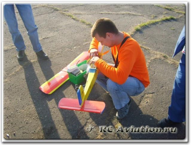 Слет авиамоделистов самодельщиков