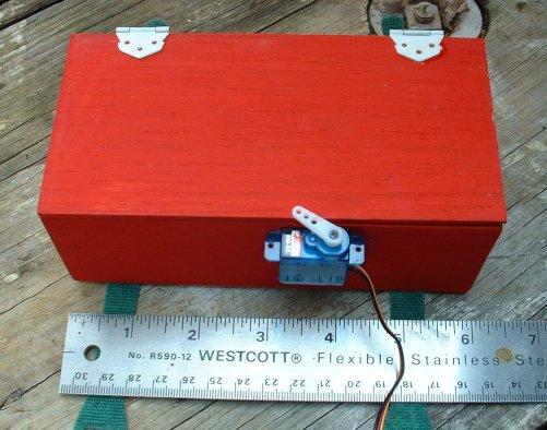 Коробка для бомб на авиамодель