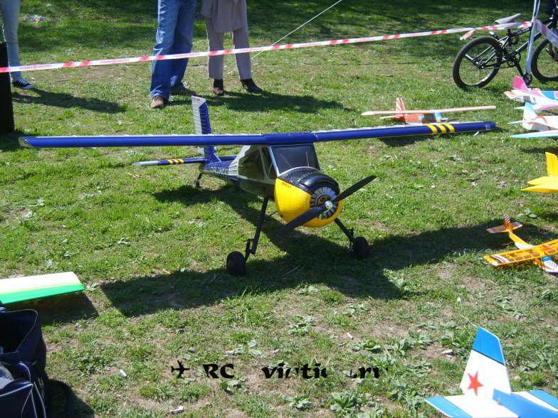 Выставочная авиамодель
