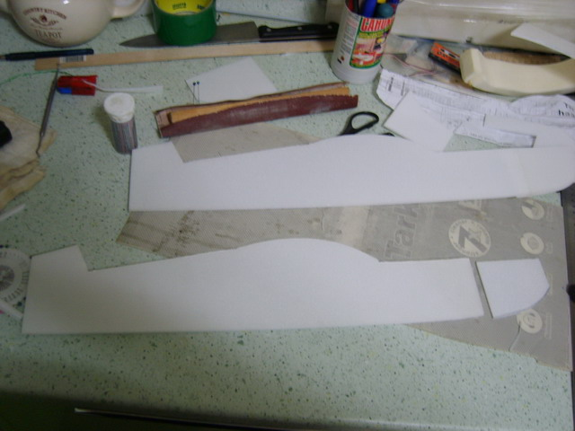 Катана изготовление шаблонов