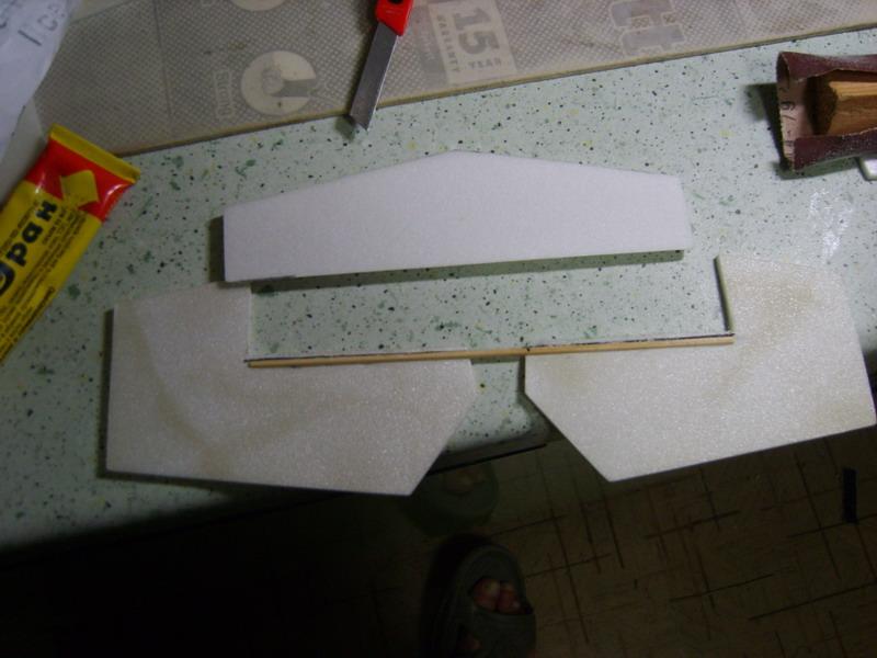 Самодельное изготовление руля высоты авиамодели Катана