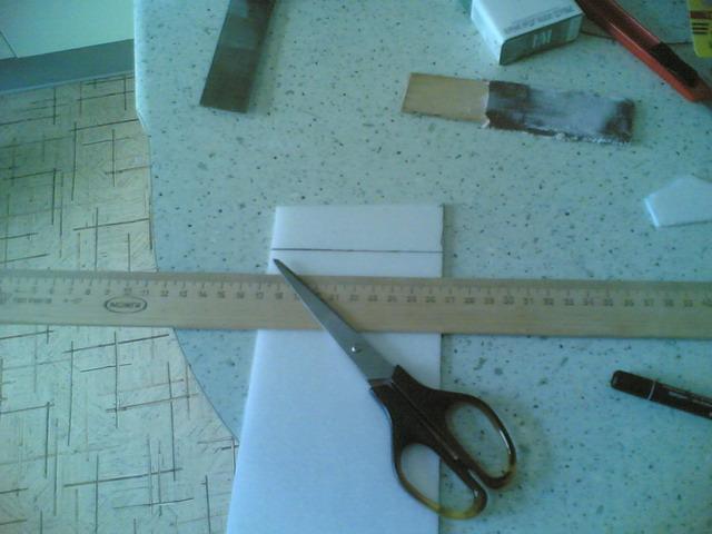 Сгибание потолочной плитки