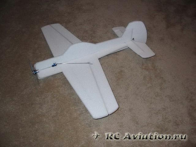 Делаем авиамодель ЯК 55