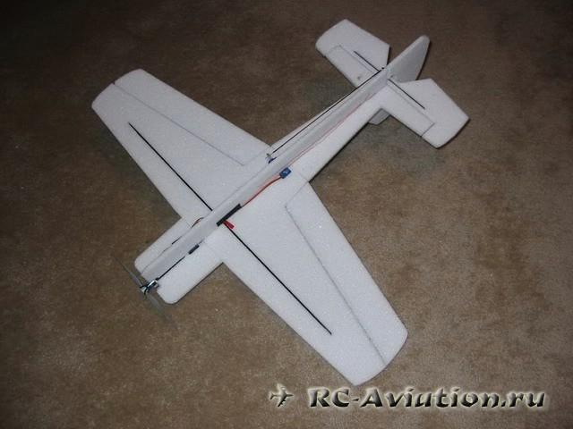 Самодельная авиамодель ЯК 55
