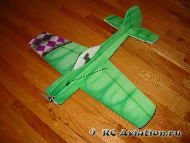 Скачать чертежи авиамодели шокфлаера ЯК-55
