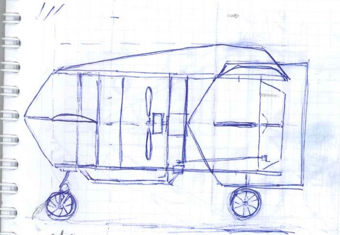 чертежи авиамодели