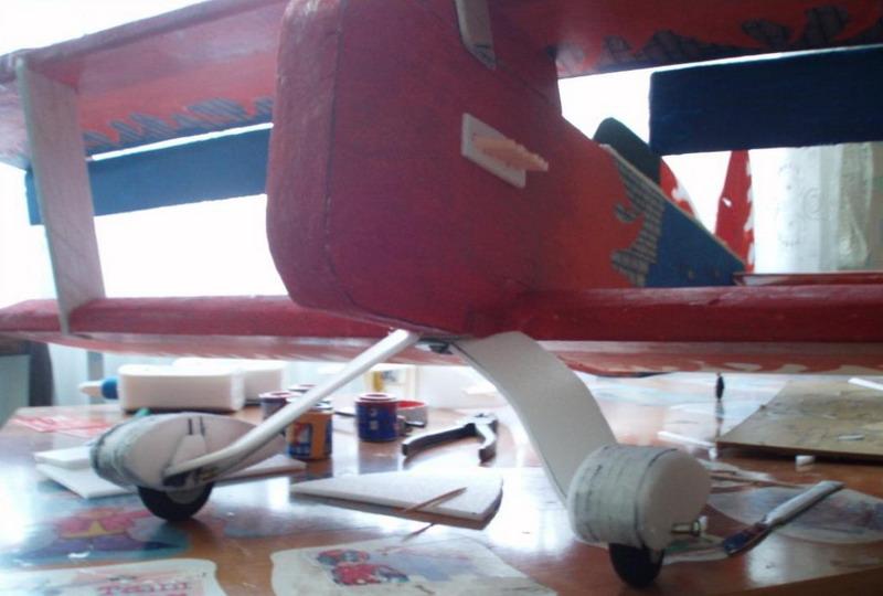 Обтекатели для колес авиамодели своими руками