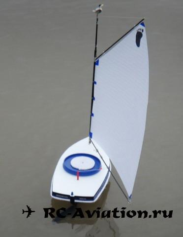 Радиоуправляемая яхта своими руками