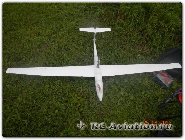 Радиоуправляемая модель Мотопланер Hobbyking ASK21Mi