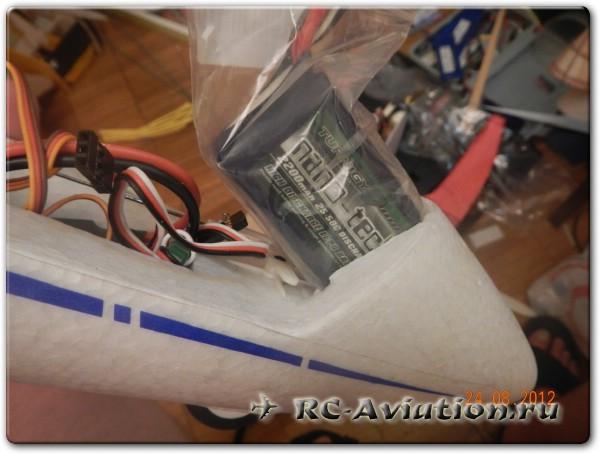Делаем аккумуляторный отсек для радиоуправляемой модели  мотопланера Hobbyking ASK21Mi