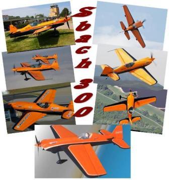 копийня авиамодель Sbach300