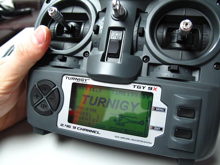 настройка 2-х моторов на Turnigy 9x
