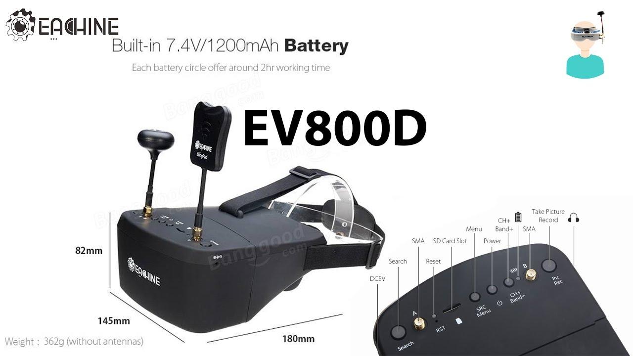 Видеошлем Eachine EV800D
