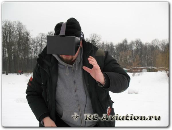 видеошлем для FPV подготовлен к полету
